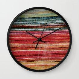 Ethnic fabric Wall Clock