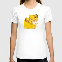 simba T-shirts featuring Simba Pixel Art by Luxatr