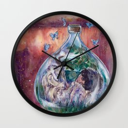 I Choose Love Wall Clock