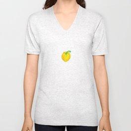 Little Yellow Pepper Unisex V-Neck