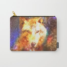 Cosmic wolf Carry-All Pouch
