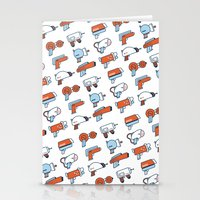 guns Stationery Cards featuring Laser Guns by Isra