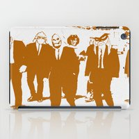 reservoir dogs iPad Cases featuring Reservoir Awesome by Doctorductape