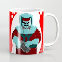 spaceman Mugs featuring Spaceman by subpatch