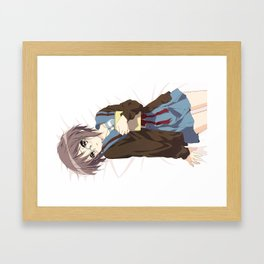 Yuki Framed Art Print