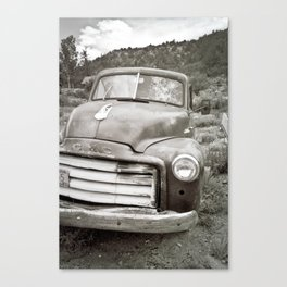 Strange characters in lonely places Canvas Print