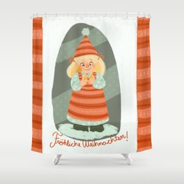 Christmas!!! Shower Curtain