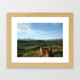 The Wind of Heaven Framed Art Print