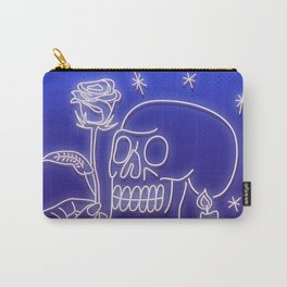 Flowers to skull Carry-All Pouch