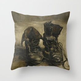 Vincent van Gogh - Boots Throw Pillow