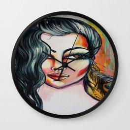 Paon lady Wall Clock