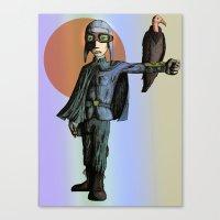 pilot Canvas Prints featuring Pilot by thepfunkfresh