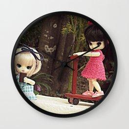 Brigitte and Maria Helena Wall Clock