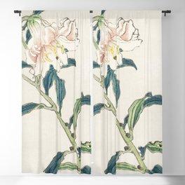 Lily by Kono Bairei (1844-1895) Blackout Curtain