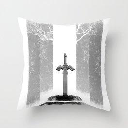 The Legend of Zelda: The Master Sword Throw Pillow