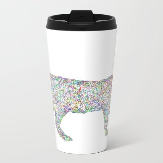 Cat Metal Travel Mug