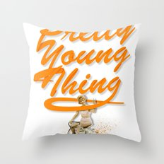 P.Y.T Throw Pillow