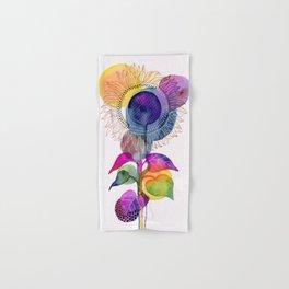 Sunflower Abstract Hand & Bath Towel