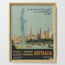 deko victorian & melbourne centenary celebrations, australia Serving Tray