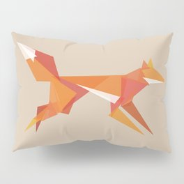 Fractal geometric fox Pillow Sham