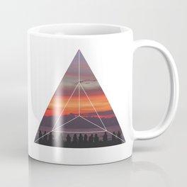 Good Friends and Sunset - Geometric Photography Coffee Mug