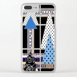 Midnight fantasy , abstraction Clear iPhone Case
