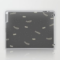 Aquarius Pattern Laptop & iPad Skin