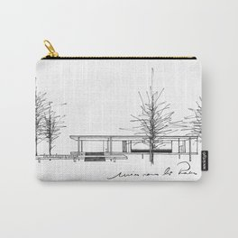 The Barcelona Pavilion -  Ludwig Mies van der Rohe Carry-All Pouch