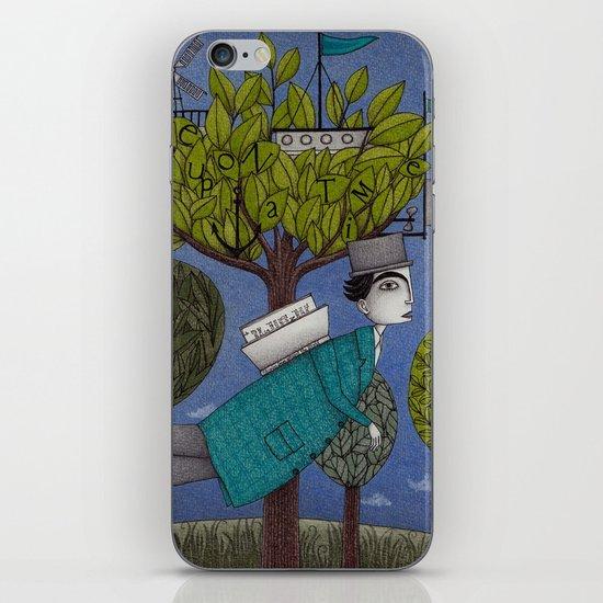 The Reading Tree iPhone & iPod Skin