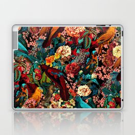 FLORAL AND BIRDS XVII Laptop & iPad Skin