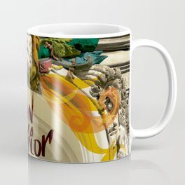 lion warrior - cara dura! Coffee Mug