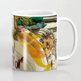 lion warrior - cara dura! Coffee Mug