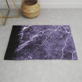 Ultra Violet Marble #1 #decor #art #society6 Rug