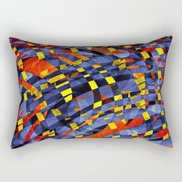 Aqua Lava Rectangular Pillow