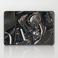 bike iPad Cases featuring Bike by ALT Illustration