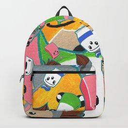 Third Eye Creative Pattern Backpack