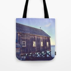 Canadian Coastal Landscape Tote Bag