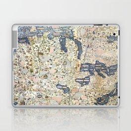 1458 World Map by Fra Mauro Laptop & iPad Skin