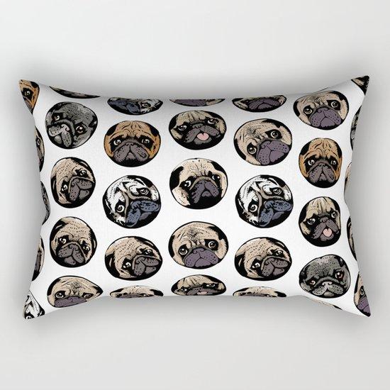 Pugka Dot Rectangular Pillow