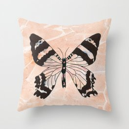 Ethereal Butterfly Throw Pillow