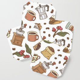 Coffee Break Pattern  Coaster