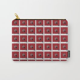 Connect the Squares Carry-All Pouch