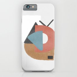 Magnetic attraction - abstract simplicity iPhone Case