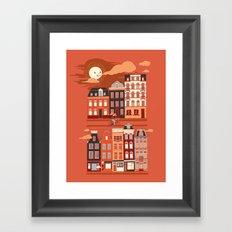 Amsterdam! Framed Art Print