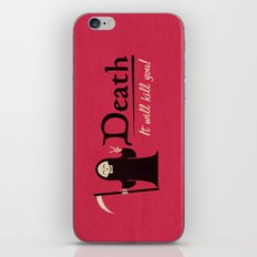 Obvious Slogan #2 iPhone & iPod Skin