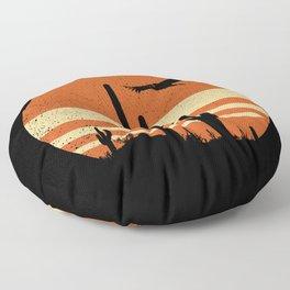 Sergio Leone Floor Pillow