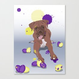 easter boxer Canvas Print
