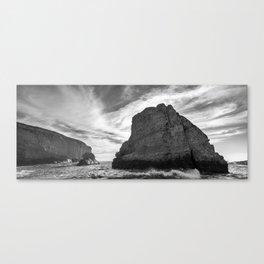 Imposing Rock Canvas Print