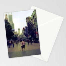 Walking Shanghai Stationery Cards