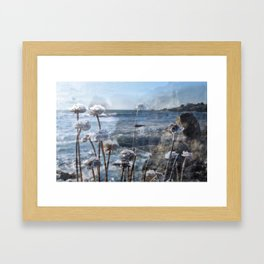 BODEGA BAY Framed Art Print